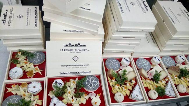 Plateaux de fromage Noël