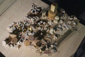 Carte des fromages d'Occitanie