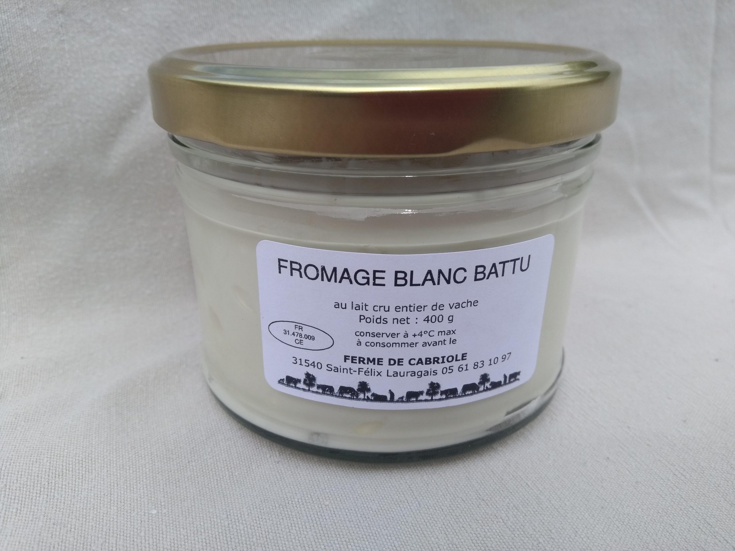 Fromage blanc 400g